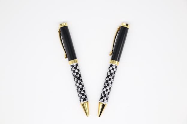 PN1056 Metal Pen/Roller Pen Tartan design