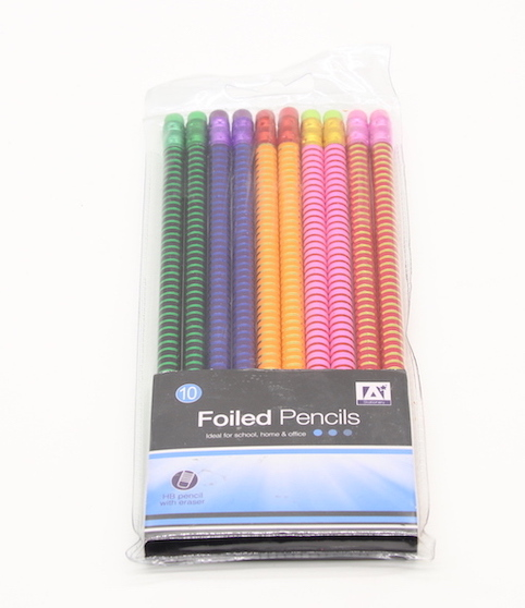 PN1081 Foil Stripe Pencil