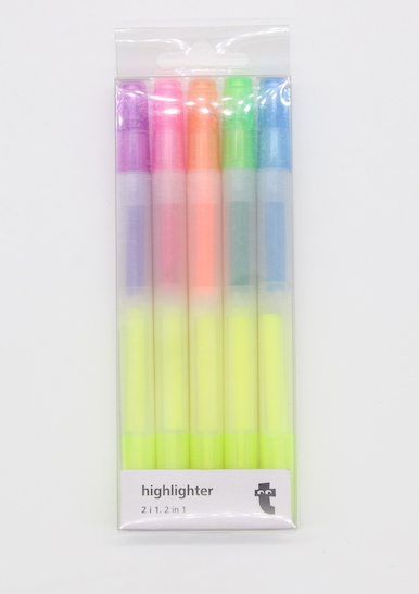 Double end Highlighter PT200602