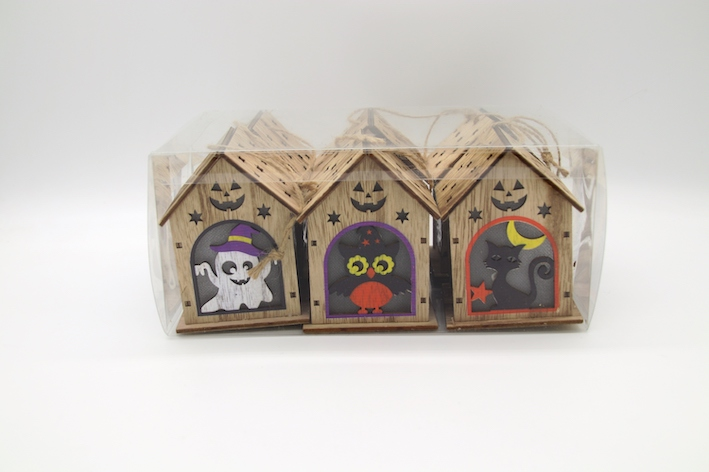 CM4009 Halloween decorate color house