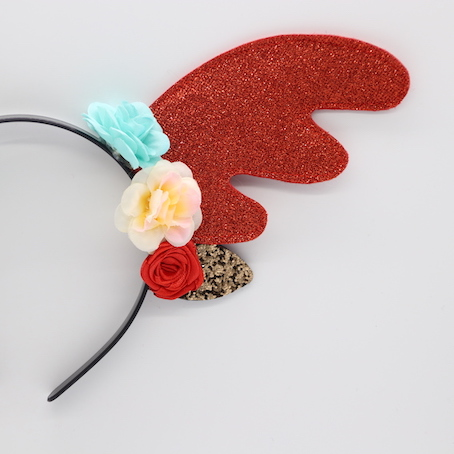 HPCM200401 Chrismas Headband Costume Party Glitter Antler Shape