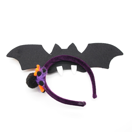 HPCM200202 Headband Halloween Costume Party Bat Shape