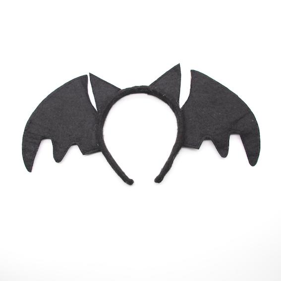 HPCM200201 Headband Halloween Saint\'s Costume Party Bat Shape