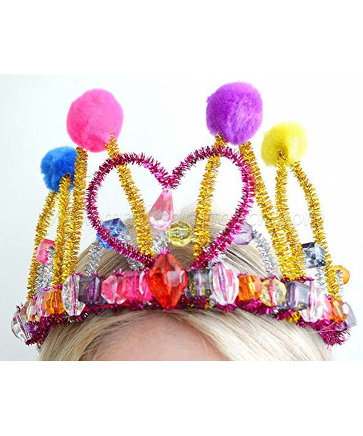 KT1601SD Make Your Own Tiara Chenille Crown