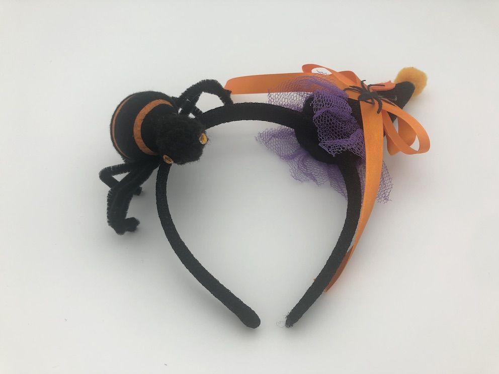 HW4005 Headband Holloween Saint's Costume Party Spider