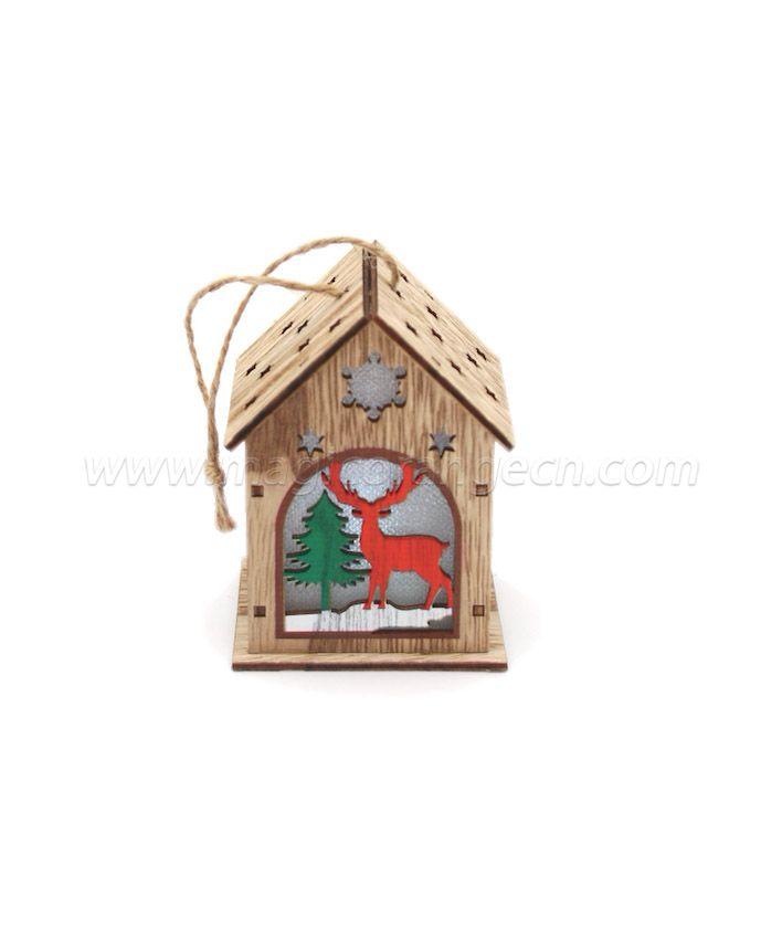 CM4007 Christmas decorate color house shape light