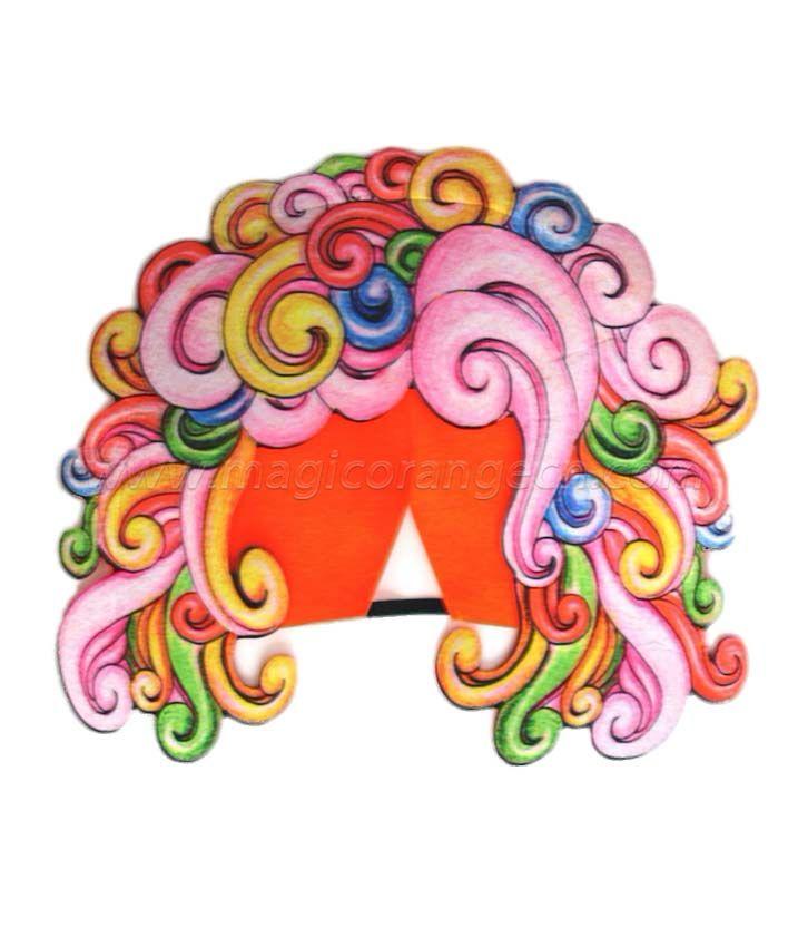 FL1035 Colorful hair cap