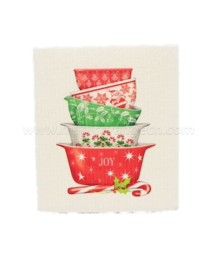 DC1006 Wash Absorbing Dish Cloth color printing