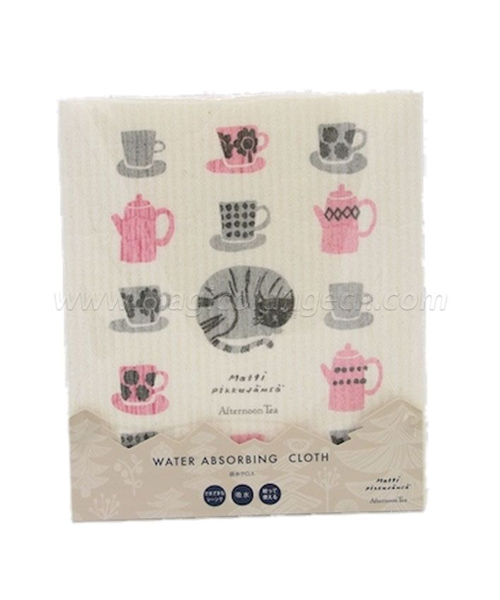 DC1003 Water Absorbing Dish Cloth Afternoon Tea