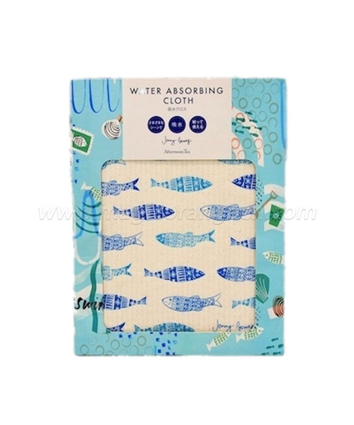 DC1002 Biodegradable Cellulose Wood Pulp Dishcloth card package