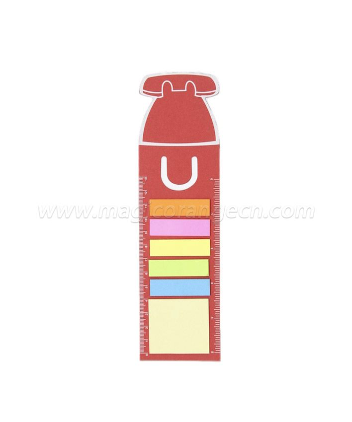 BK1044 Memo sticker with card ruler