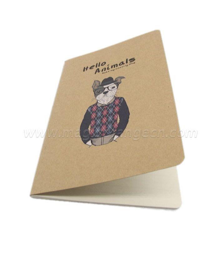 BK1040 Cute stitching student notebook