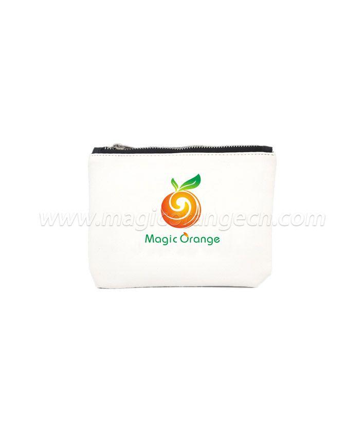 BG2008 High Quality Fashion Custom Zipper Bag Soft Pu Leather Pouch