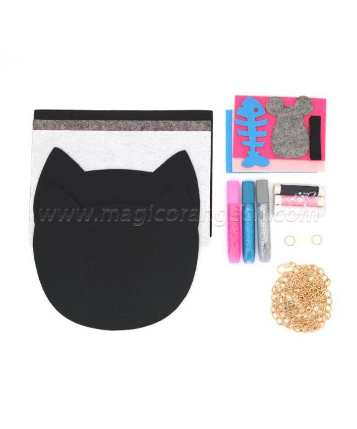 DYO Meowtastic Cat Purse KT1703TG