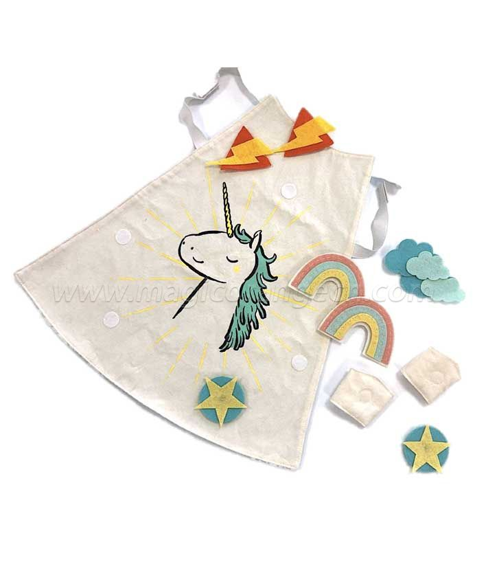 Magical Unicorn Dress Up cape KT1605SD