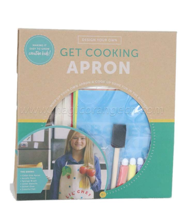 DYO Get Cooking Apron KT1704TG