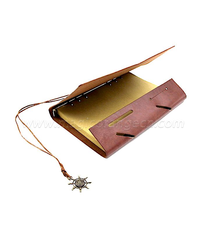 BK1042 Brown design PU notebook