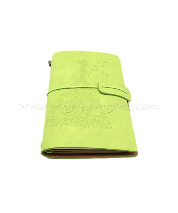 BK1006 Butterfly princess PU notebook