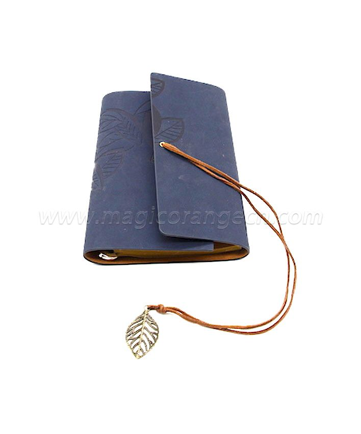 BK1007 Leaf design PU notebook
