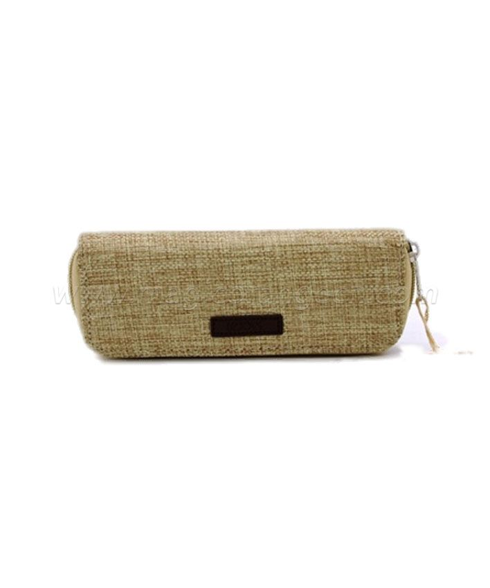 PB1003 Jute Pen Bag Nature color PU marker