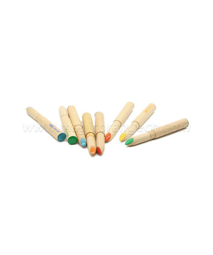 PN1066 Wood Lipstick Ball Pen