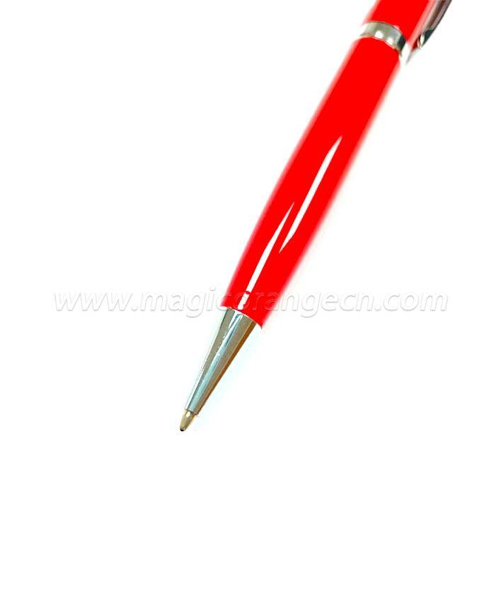 PN1137 Metal ball-pen Red color