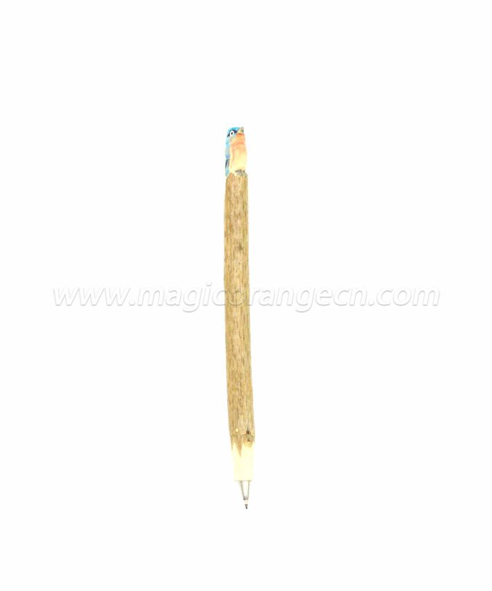 PN1012 Bird Wood Ball Pen