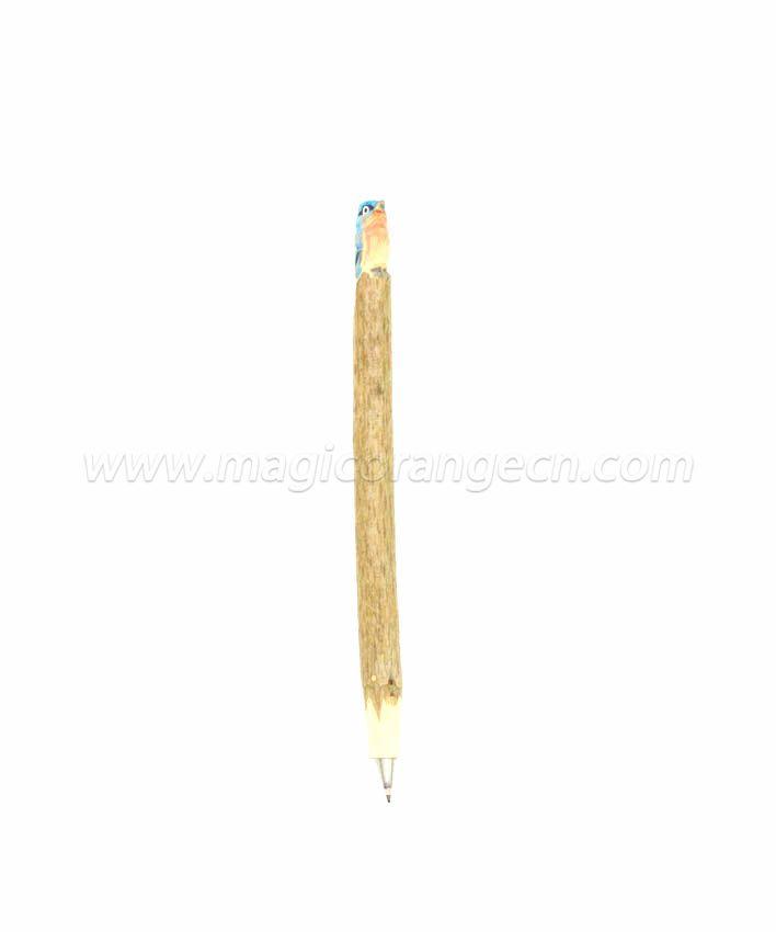 PN1012 Bird Wood Ball Pen