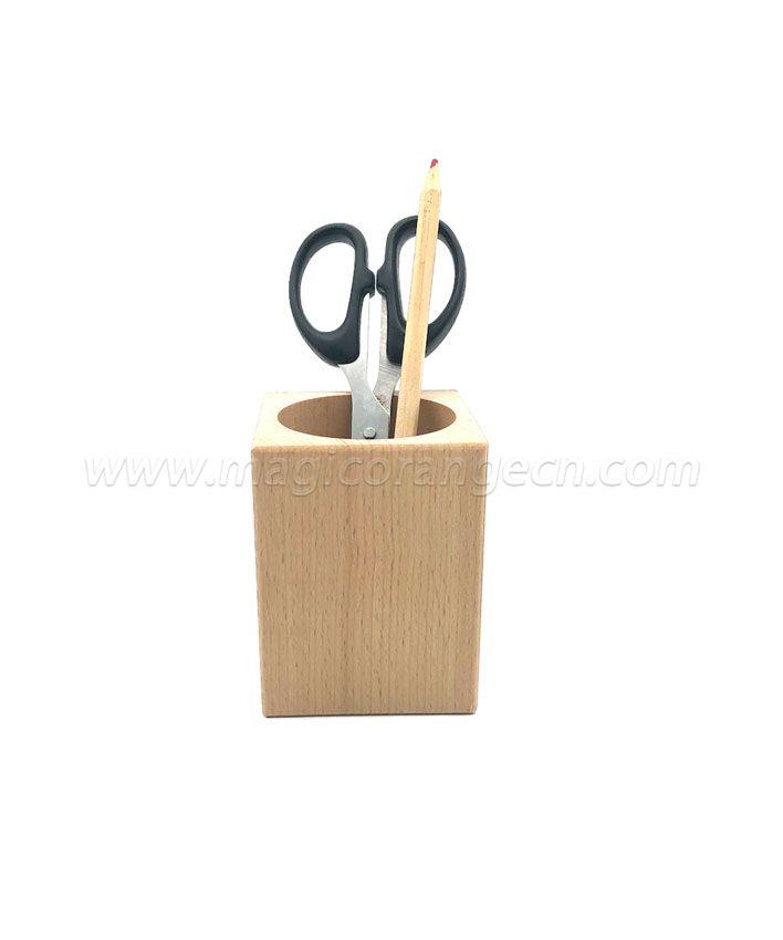 TL1003 Wooden pen holder natural color