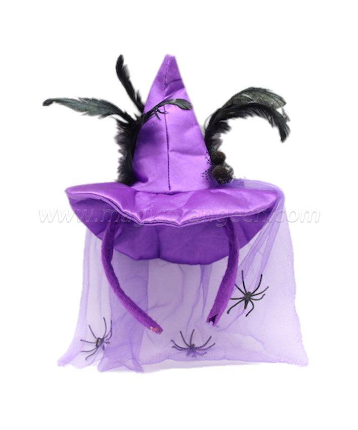 HPCM200102  Headband Halloween Saint\'s Costume Party Purple Hat