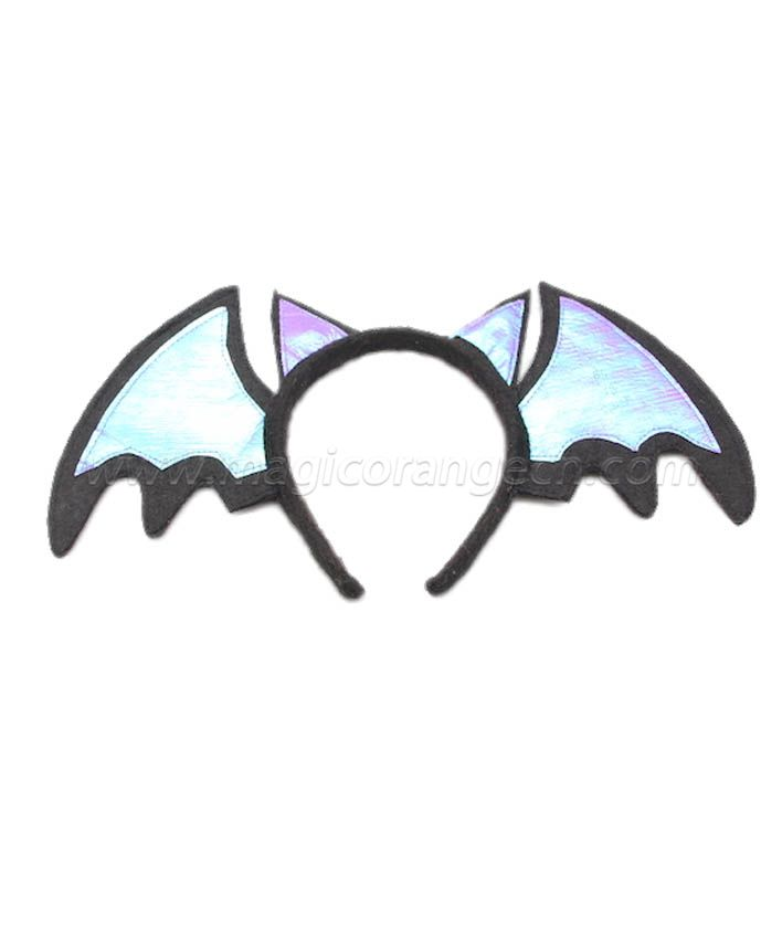 HPCM200201 Headband Halloween Saint\'s Costume Party Bat Shape