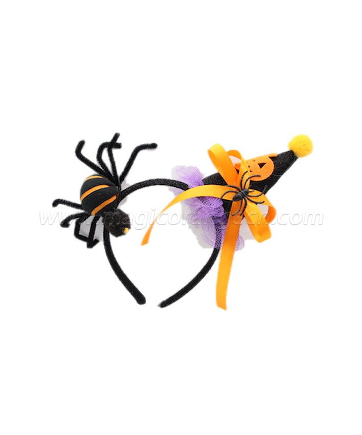 HW4005 Headband Holloween Saint's Costume Party Spider