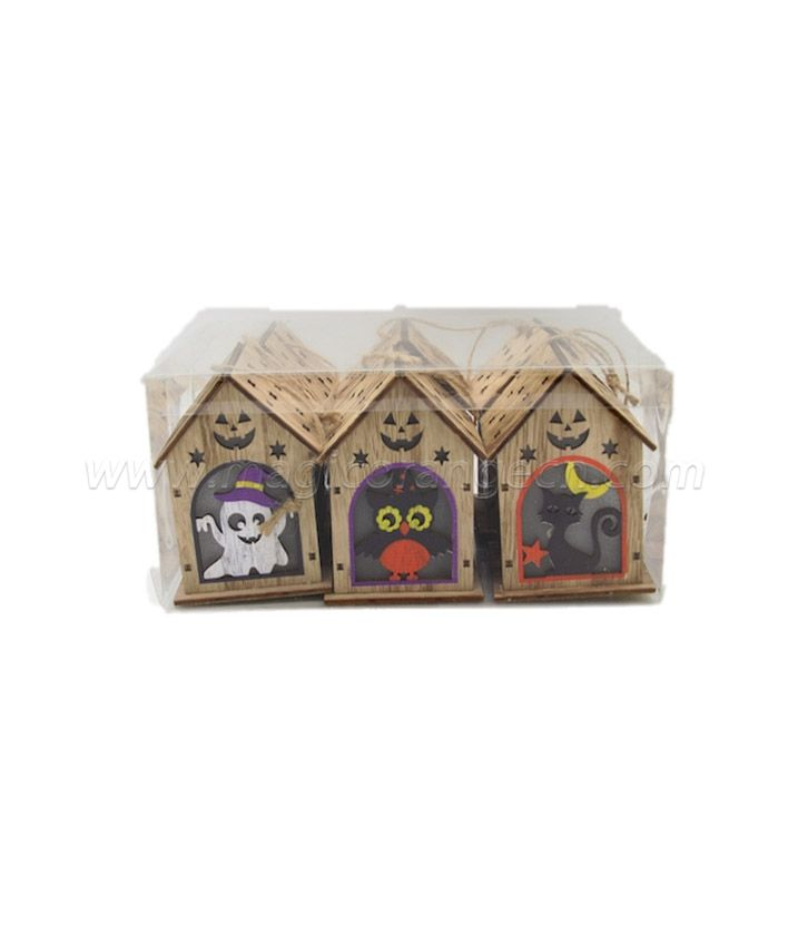 CM4009 Halloween decorate color house