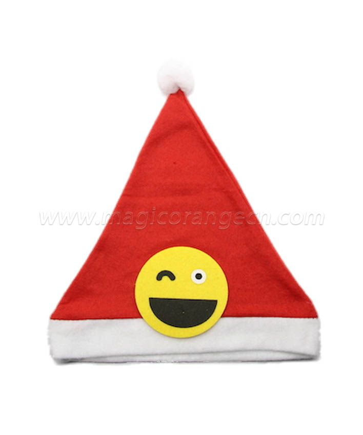 HPCM1015 Smiling Face Christmas Hat