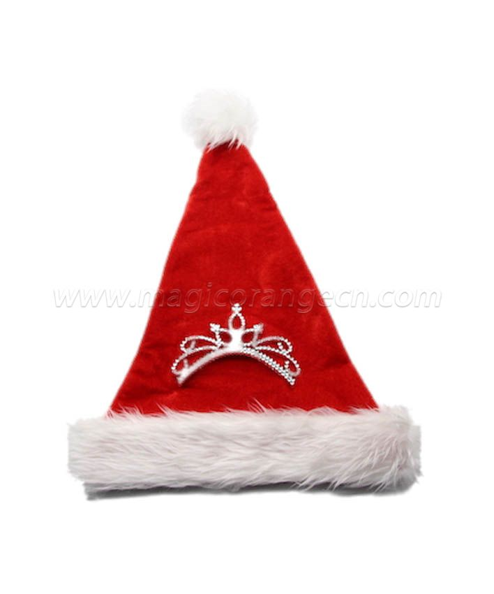 HPCM1018 Christmas Hat Decorated with Princess Crown