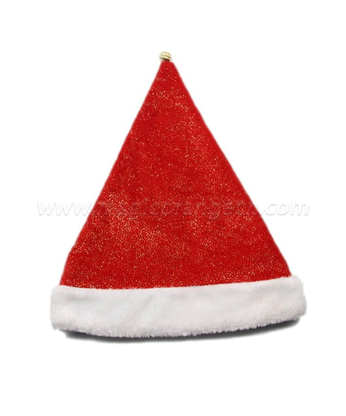 HPCM1023 Christmas Hat with silver foil pattern