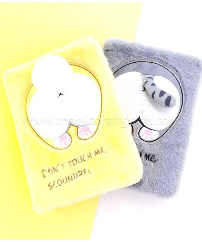 BK1050 Pet Small ass plush notebook