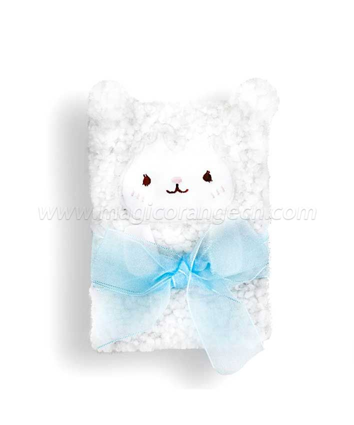 BK1052 Lamb plush notebook B6 Size