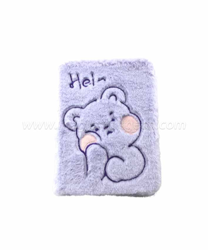 BK1055 Hi animal Plush Notebook B6 Size