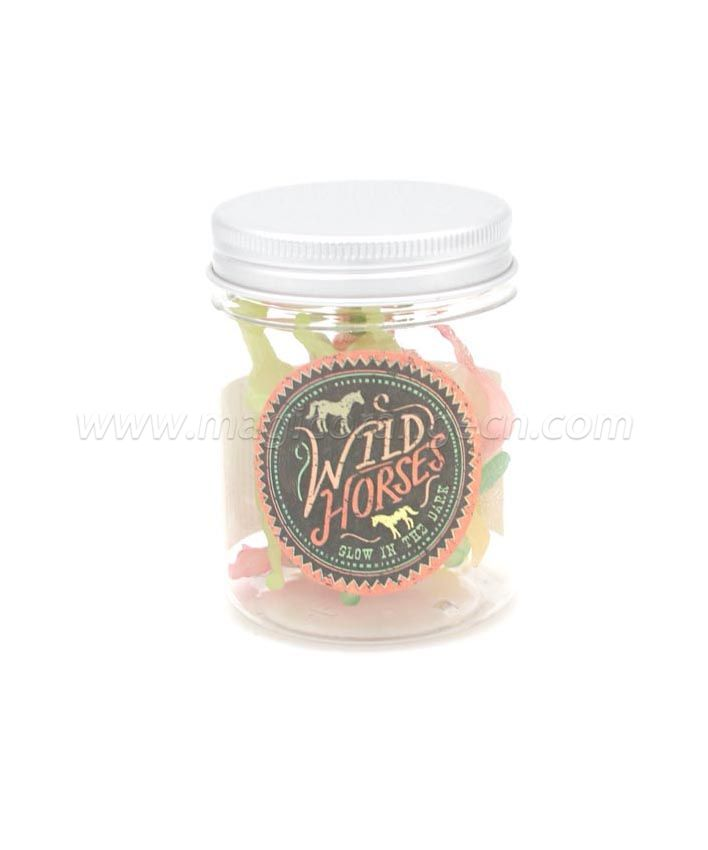 PL1027 Grow in the dark Horses in a Jar