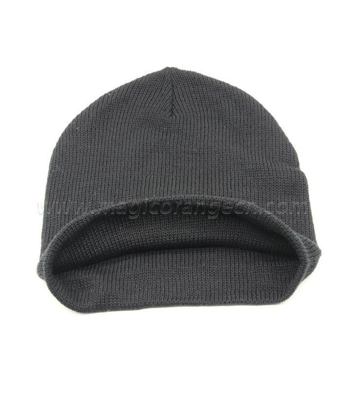 FB2001 Beanie Wool Knit Skull Cap Wool Blend Ski Hat For Kids