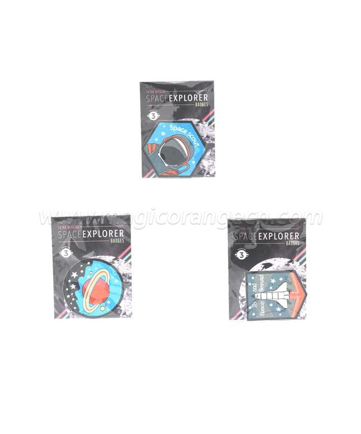 BD1002 Extra Official Space Explorer Badges