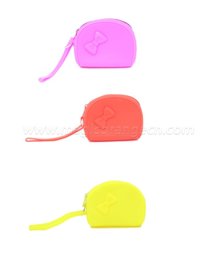 PL1031 Bowknot Cutie silicone Purse