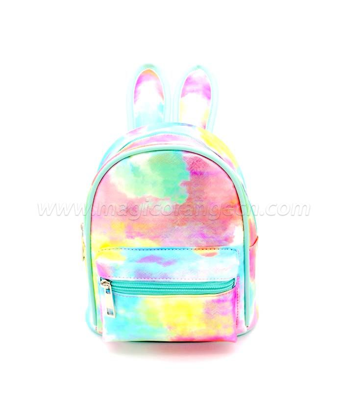 BG2036 Mini Rabbit Ear Backpack Waterproof PVC Shoulder Bag