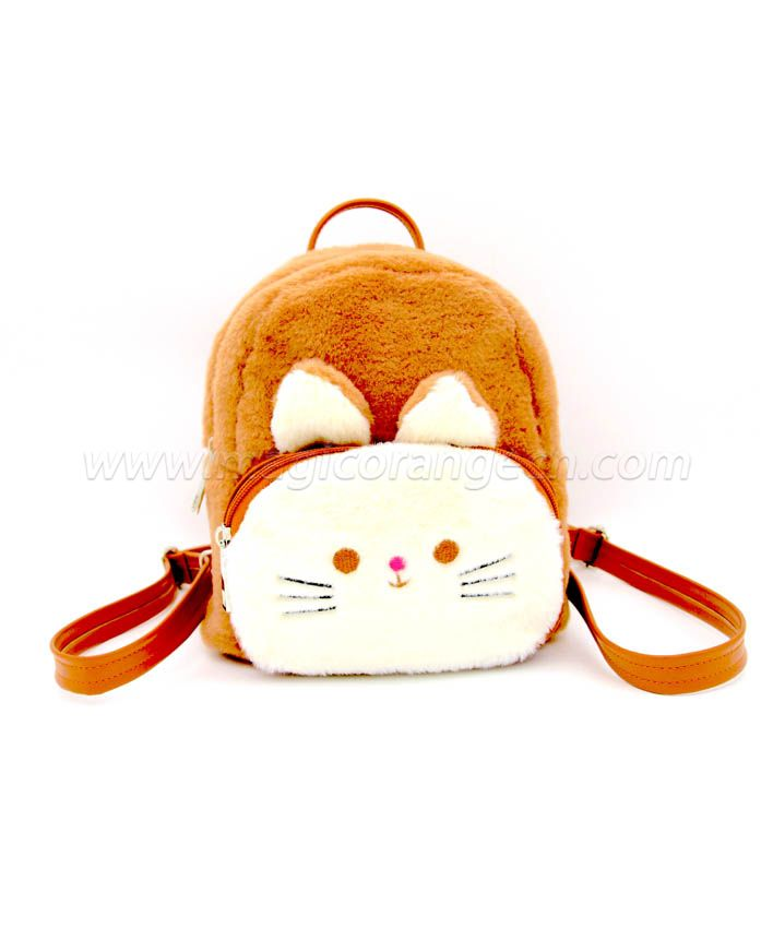 BG2038 Mini Pom Pom Backpack Embroider
