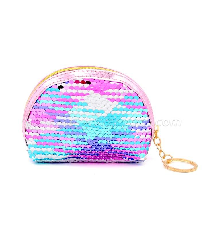 BG2041 Oval Sequin Mini Key Ring