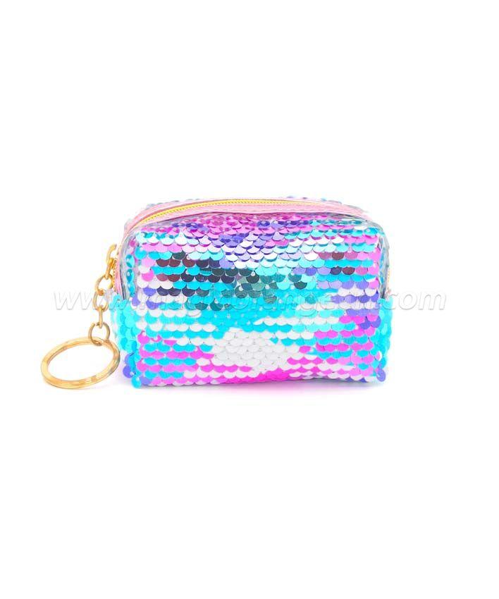 BG2042 Sequin  coin bag Mini Key Ring