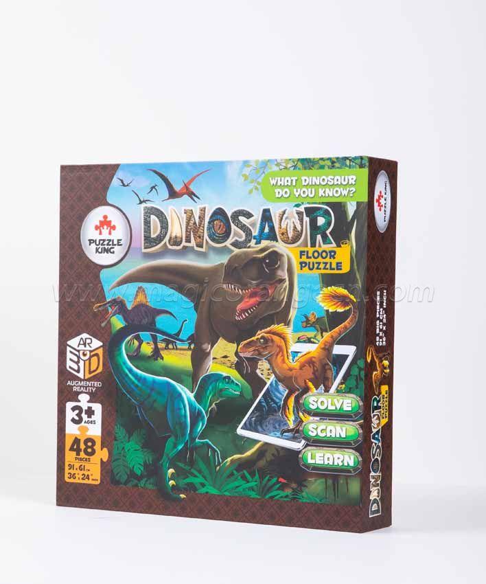 CTY1006 Dinosaur World AR Floor Puzzle