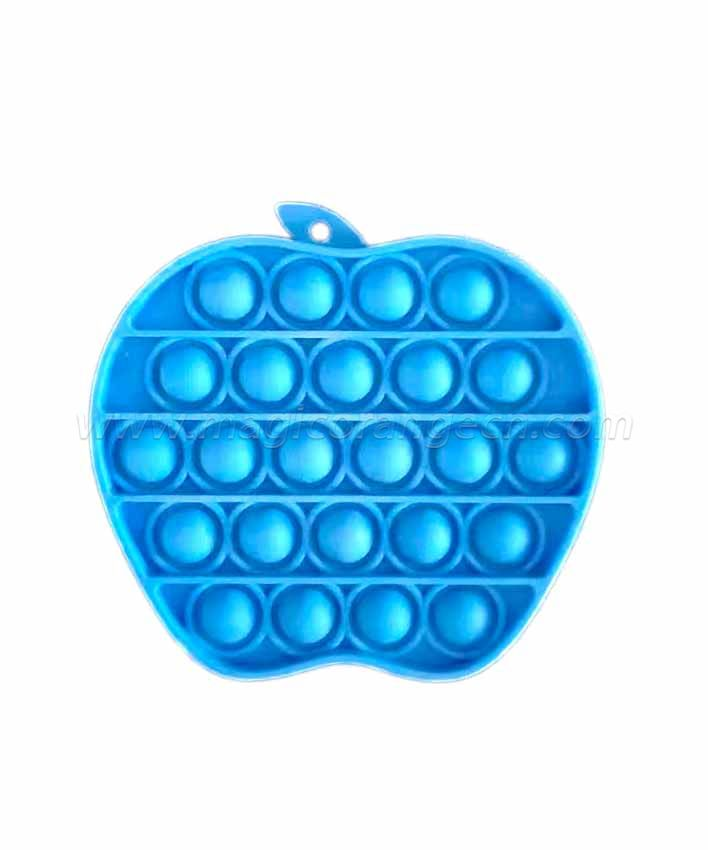 PL2022006 Apple Shape Push pop bubble fidgets sensory toy Last mouse lost