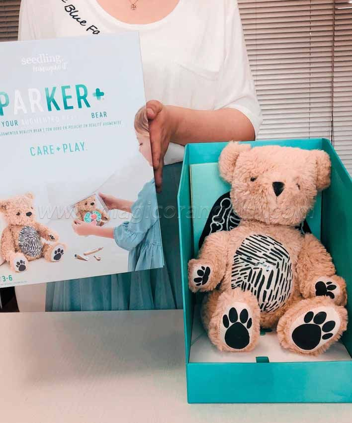 KT1702SD Parker the Bear Apple Augmented Reality for Kids